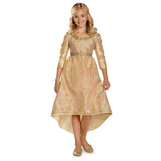 Girls Aurora Coronation Gown Classic Halloween Costume (2 options available)