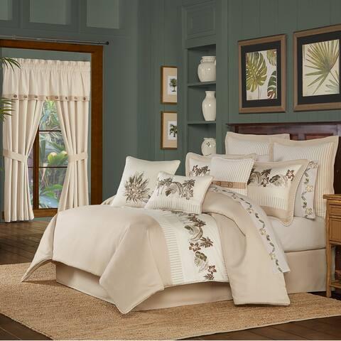 Five Queens Court Pamela 4 Piece Comforter Set