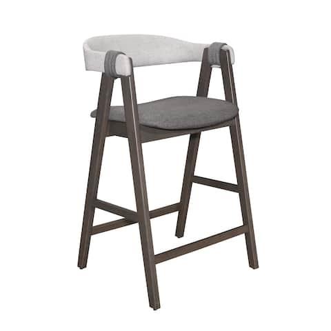 Global Furniture USA Rustic Grey Bar Stool