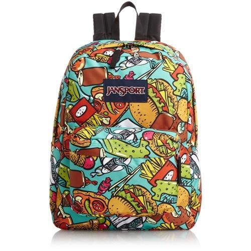 c9504ed56655 Shop JanSport Super-break Printed Backpacks - Free Shipping On Orders Over   45 - Overstock - 18767386
