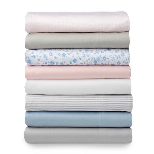 Martha Stewart Leigh Floral Egyptian Cotton Sheets. Opens flyout.