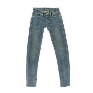 Denim & Supply Ralph Lauren Womens Denim Ultra-Low Rise Skinny Jeans