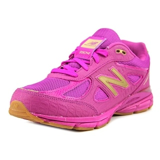 New Balance KJ990 Youth W Round Toe Synthetic Purple Running Shoe