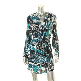 Santuary Womens Pullover Printed Casual Dress