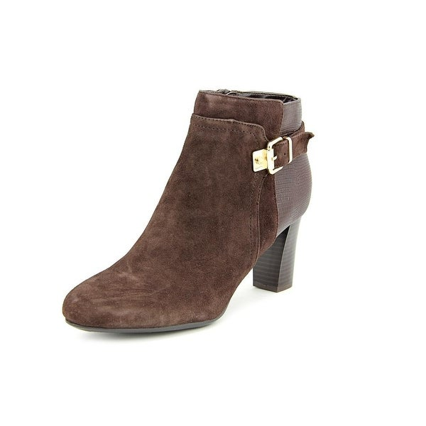 Alfani Dadine   Round Toe Suede  Ankle Boot