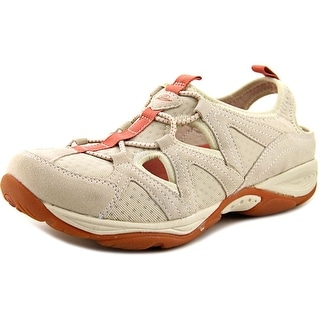 Easy Spirit Earthen Women Round Toe Suede Tan Walking Shoe