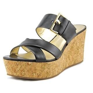 Kate Spade Talula Open Toe Leather Platform Sandal