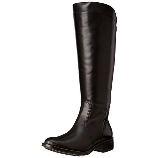 Andre Assous Womens Saddle Up Riding Boots Leather Waterproof