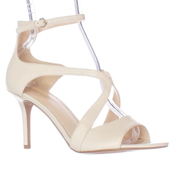Nine West Gerbera Ankle Strap Dress Pumps, Off White