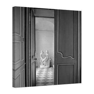 Easy Art Prints Alan Blaustein's 'Chateau #2' Premium Canvas Art