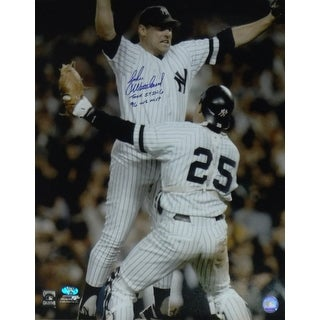 John Wetteland Autographed New York Yankees 16x20 Photo 2 insc