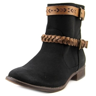 Roxy Skye Women  Round Toe Synthetic Black Ankle Boot