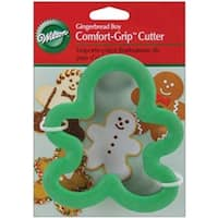 Gingerbread Boy - Comfort-Grip Cookie Cutter 4""