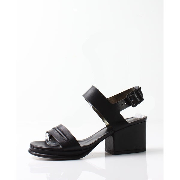 Robert Clergerie NEW Black Women's Shoes Size 9.5M Erika Sandal
