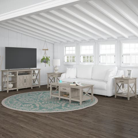 The Gray Barn 4-piece TV Stand and Table Set