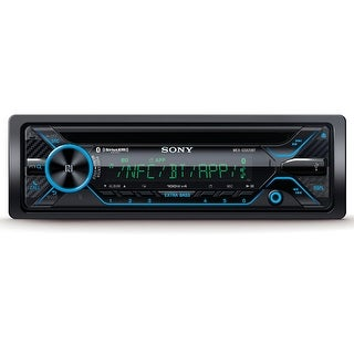 Sony MEX-GS820BT CD Receiver with Bluetooth & Music Center