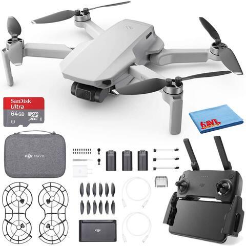 DJI Mavic Mini Quadcopter Drone Fly More Combo (CP.MA.00000123.01) and