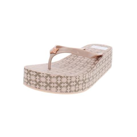 BCBGeneration Womens Giselle Platform Sandals Printed Wedge