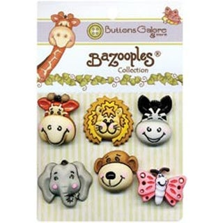 Gertrude & Friends - BaZooples Buttons