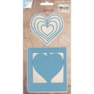 Joy! Crafts Cutting Die-Card Model Hearts
