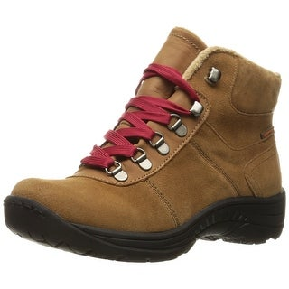 Bare Traps Womens Rosie Leather Closed Toe Ankle Cold Weather Boots