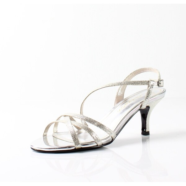Caparros NEW Silver Women's Shoes Size 7.5M Theresa Strappy Sandal