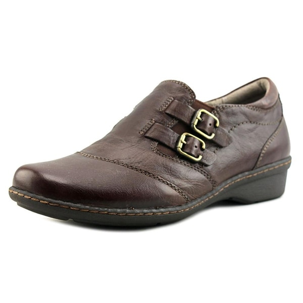 Naturalizer Rapid Women Round Toe Leather Brown Loafer