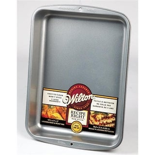 2105-963 14 x 11 in. Recipe Right Bake Roast Lasagna Pan