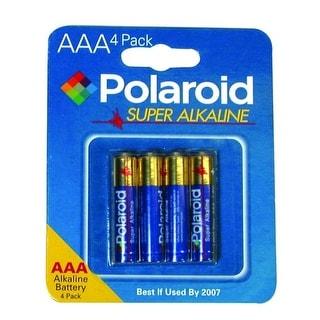 Polaroid 4-Pack AAA Alkaline Batteries