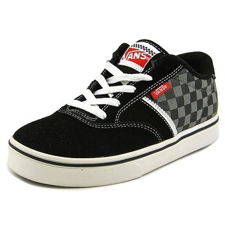 Vans Ruark Round Toe Leather Fashion Sneakers