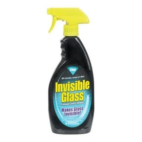 Stoner 92166 Invisible Glass Cleaner, Quickly Cleans, 22 Oz