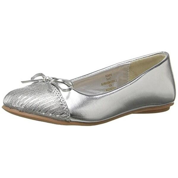 bf8c78427b298 Shop Kensie Girl Girls Ballet Flats Toe Cap Cap Toe - Free Shipping ...