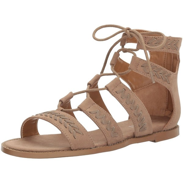Report Women's Zendaya Gladiator Sandal - Taupe