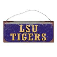 Louisiana State University Tigers Small Tin Sign