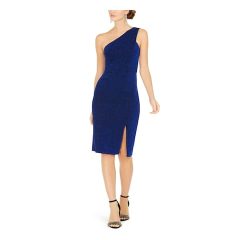 VINCE CAMUTO Blue Sleeveless Knee Length Sheath Dress Size 12