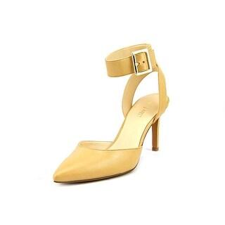 Nine West Callen Pointed Toe Leather Heels