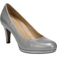 b73c56bb5cae Shop Naturalizer Women s Wright Block Heel Pump Dark Blue Denim ...