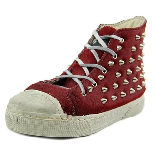 Gienchi 5721 Round Toe Suede Sneakers