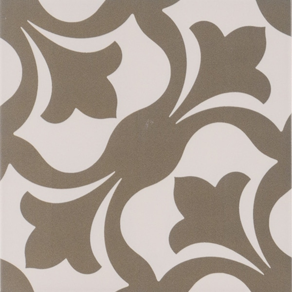 "MSI NANY8X8 Anya - 8"" Square Floor Tile - Matte Visual - Sold by Carton (5.328 SF/Carton) - Gray"