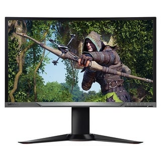 "Refurbished - Lenovo Y27G 27"" LED Curved Gaming Monitor G-Sync DisplayPort HDMI Razer Edition"