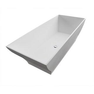 "Avano AV7131BHSXCWXX Freestanding Bathtubs 70-7/8"" Gel Coated Soaking Bathtub for Freestanding Installations with Reversible"