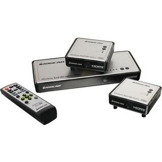 IOGear GWHDMS52MBK2 Iogear Long Range Wireless 5x2 HDMI Matrix PRO with 1 Additional Receiver - 1920 x 1080 - Full HD - 5 x 3 -