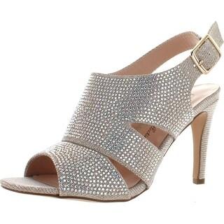 De Blossom Collection Womens Paris-4 Stunning Glitz Dress Party Sandals Shoes