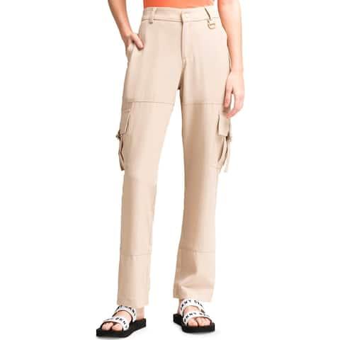 DKNY Womens Cargo Pants Utility Slim