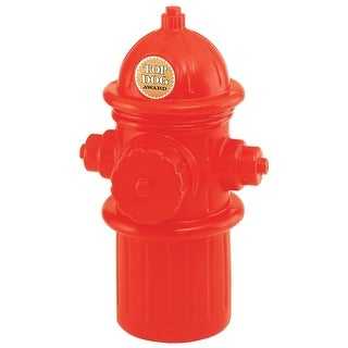 "Hueter Toledo Fireplug Storage Container Red 13"" x 14"" x 24"""