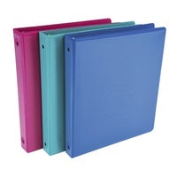 shop samsill fashion color value view binder 1 1 2 in 11 x 8 1 2