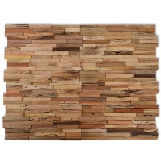 Link to vidaXL 10 pcs Wall Cladding Panels 10.8 ft² Recycled Teak Similar Items in Wall Coverings