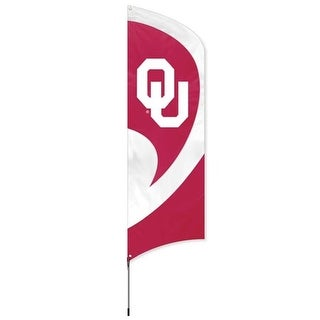 Party Animal, Inc. TTOK Tall Team Flag with Pole - Oklahoma