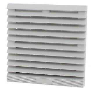148.5mm x 148.5mm Plastic Cabinet Axial Flow Fan Foam Dust Filter w Seal Ring