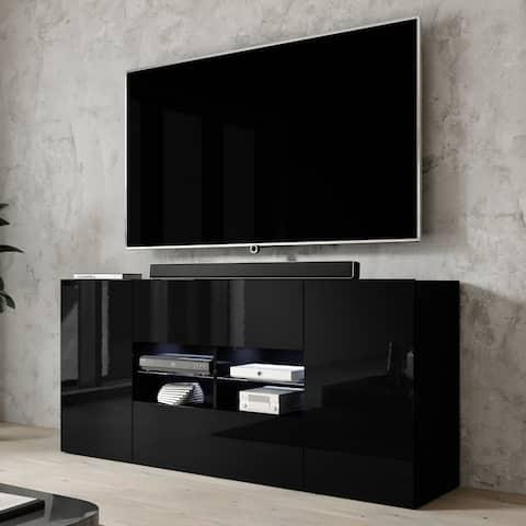 Sarenzo Modern 63-inch Modern High Gloss TV Stand
